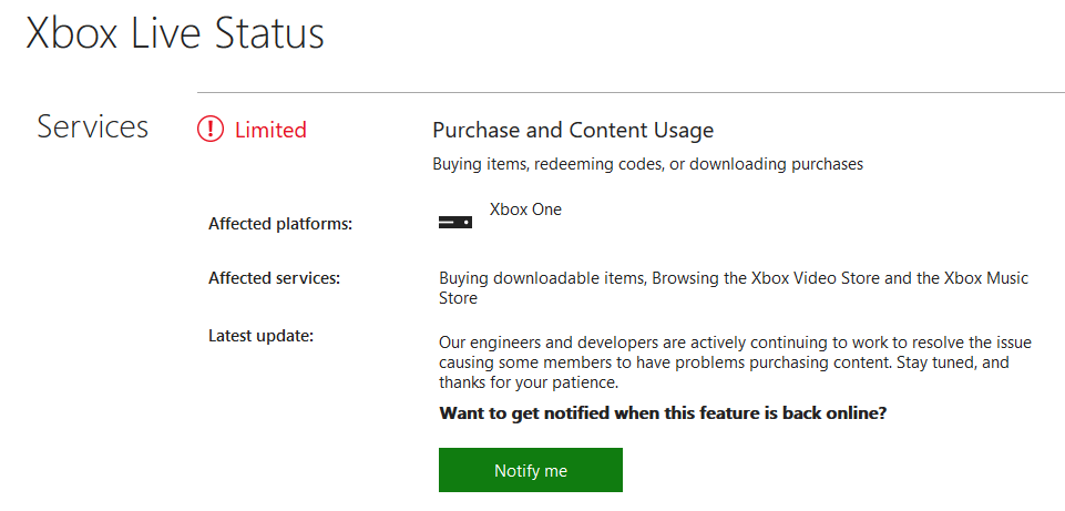 Check if the Xbox services are running properly