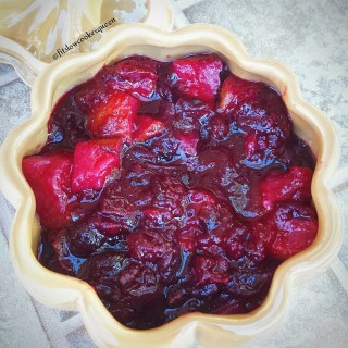 Cranberries with Pears & Ginger