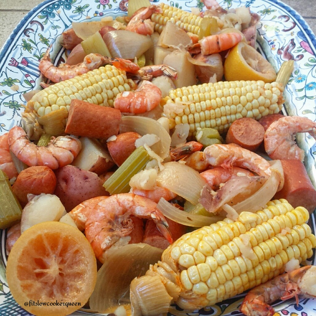 Slow Cooker Cajun Low Country Boil