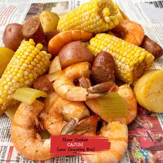 {VIDEO} Slow Cooker Cajun Low Country Boil
