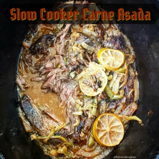 Slow Cooker Carne Asada (Paleo,Whole30)