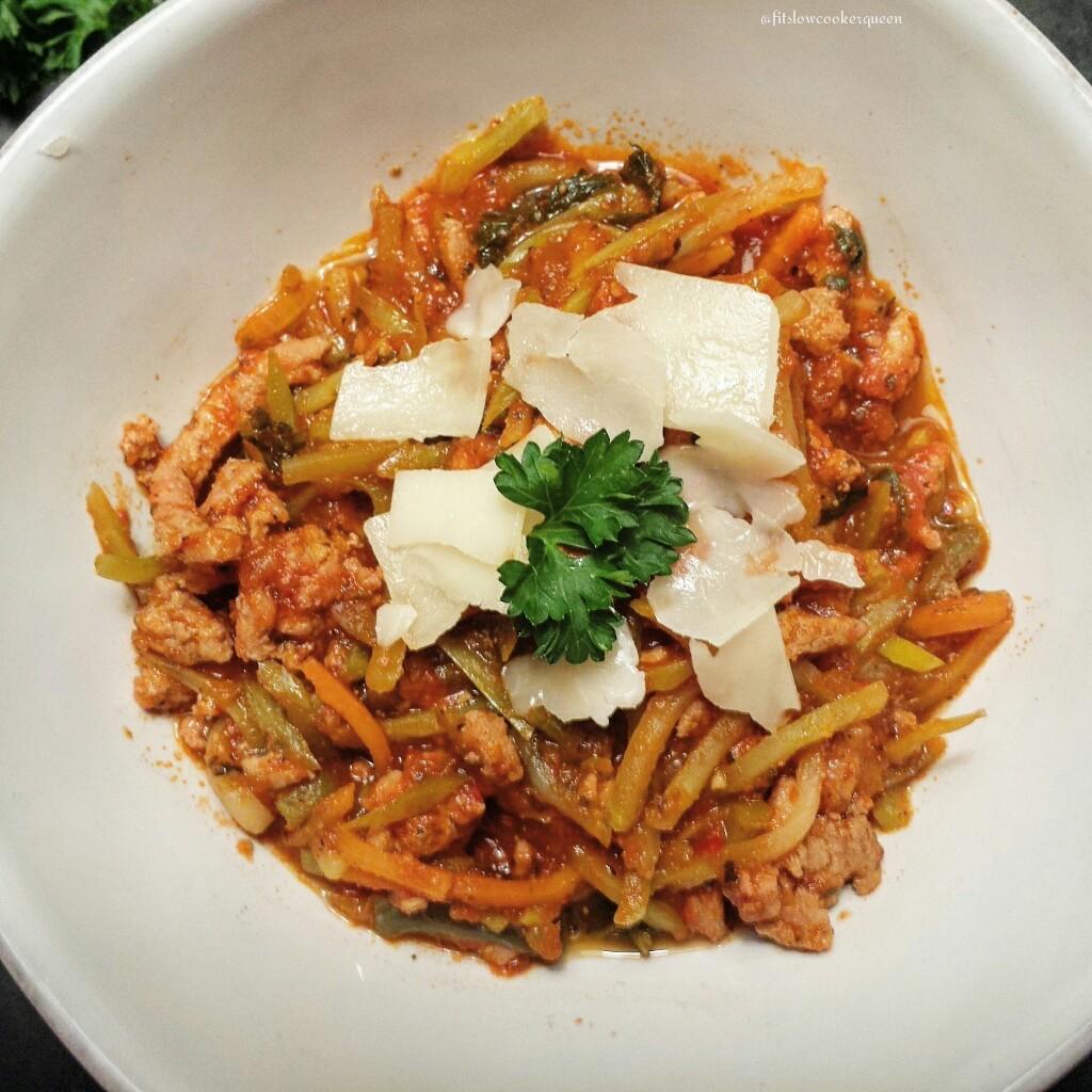 Slow Cooker Slawghetti
