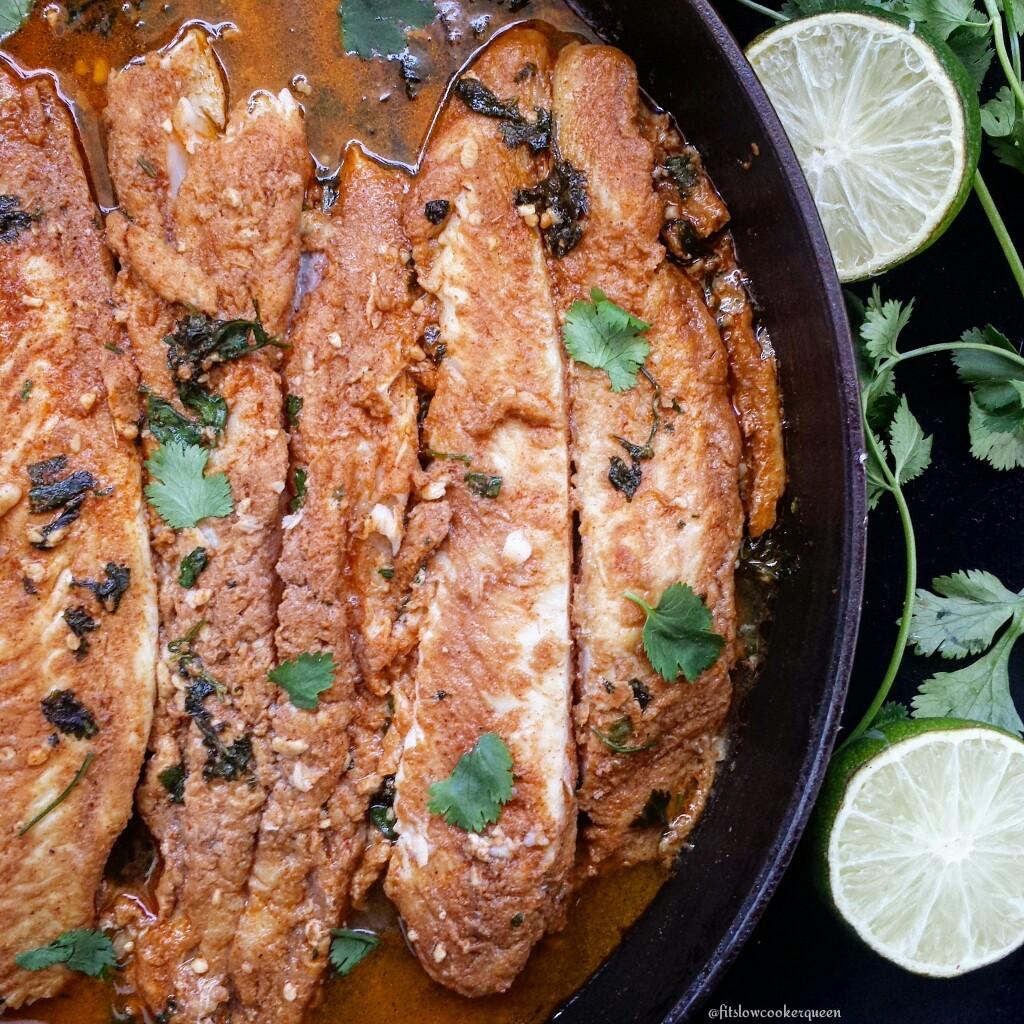 Seasoned White Fish
