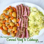 cover pic for {VIDEO} Slow CookerInstant Pot Corned Beef and Cabbage (Paleo, Whole30)