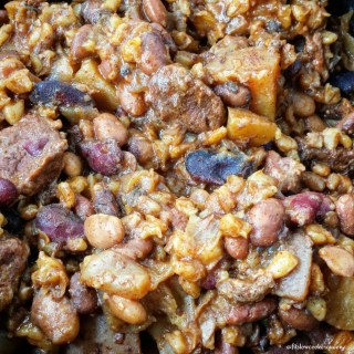 Slow Cooker Beef Cholent