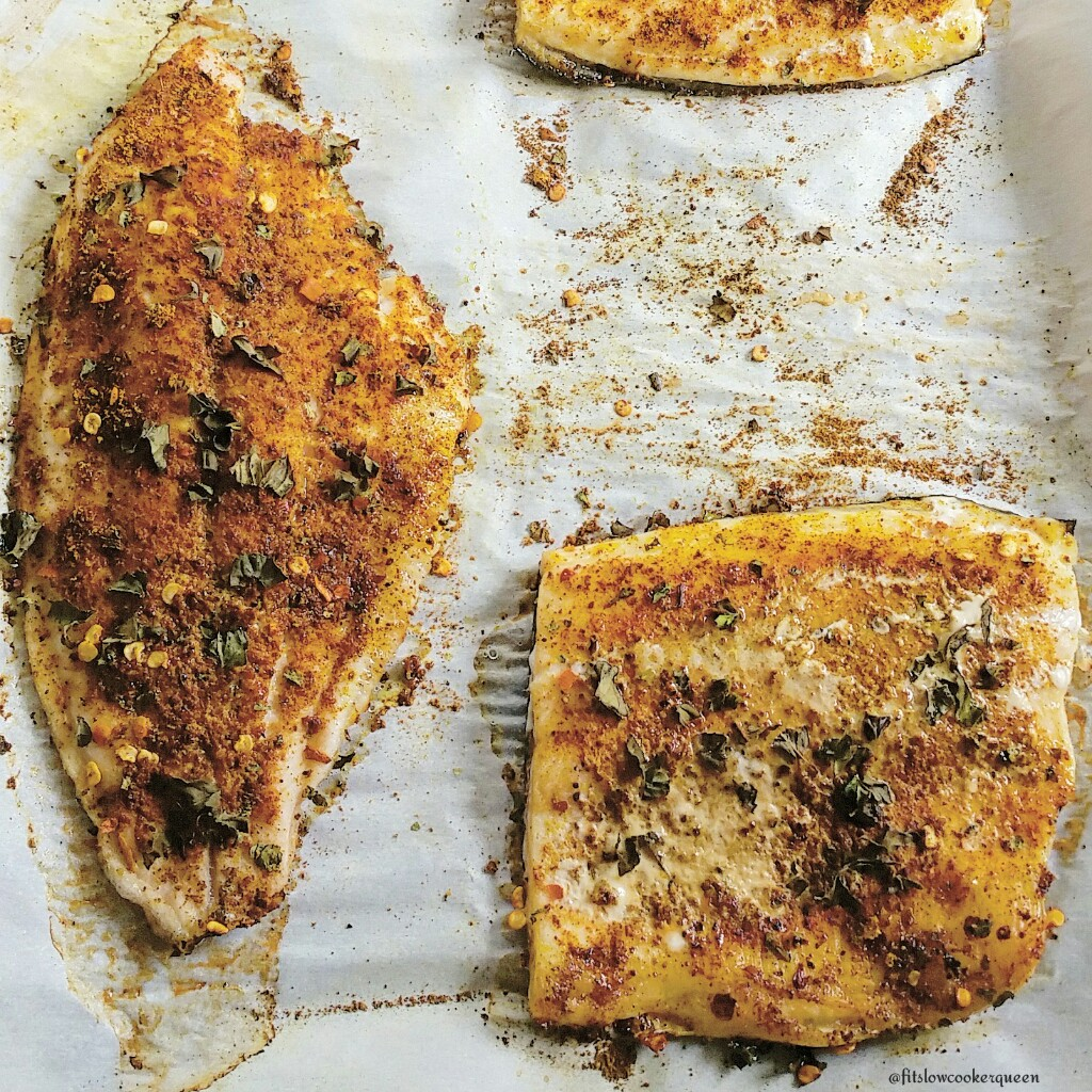 Baked Moroccan Fish