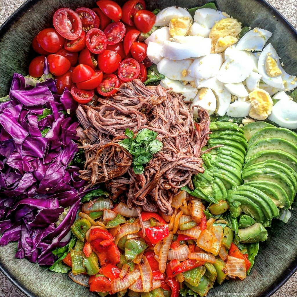 Slow Cooker Tri-Tip Salad