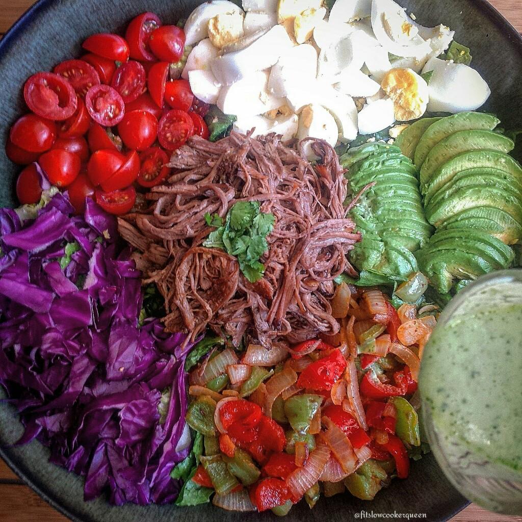 Slow Cooker Tri-Tip Salad