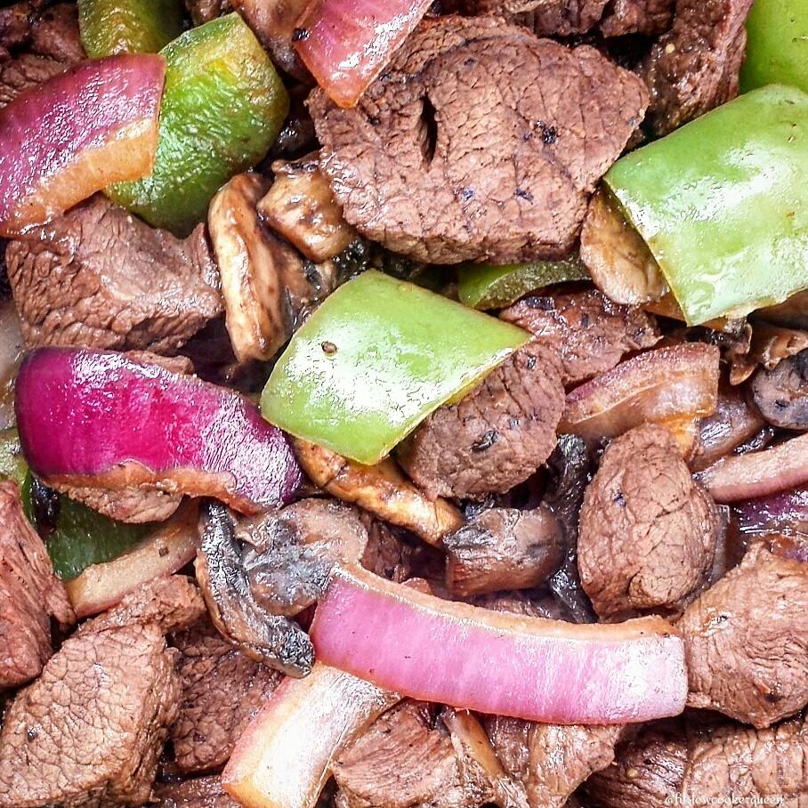 Bison & Vegetables Skillet