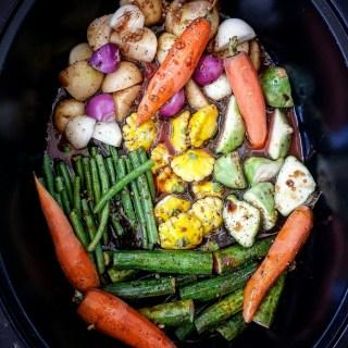 Slow Cooker Summer Vegetables