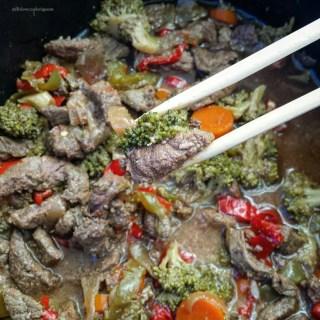 Slow Cooker Beef Stir-Fry