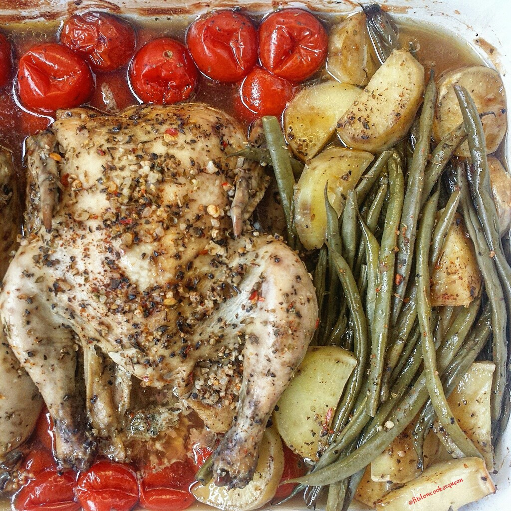 Slow Cooker Herbed Cornish Hens