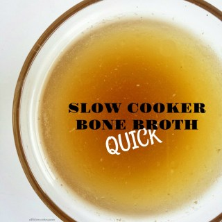 Bone broth has tons of nutritional value. Making homemade bone broth is not only super easy but also cheaper than buying it. Bone broth cooks for hours...it's the perfect recipe for a slow cooker.