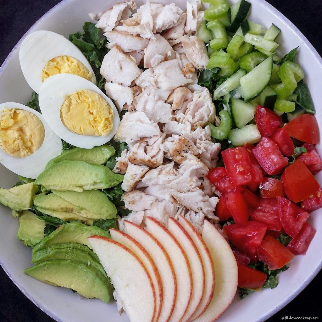 Mahi-Mahi Kale Salad