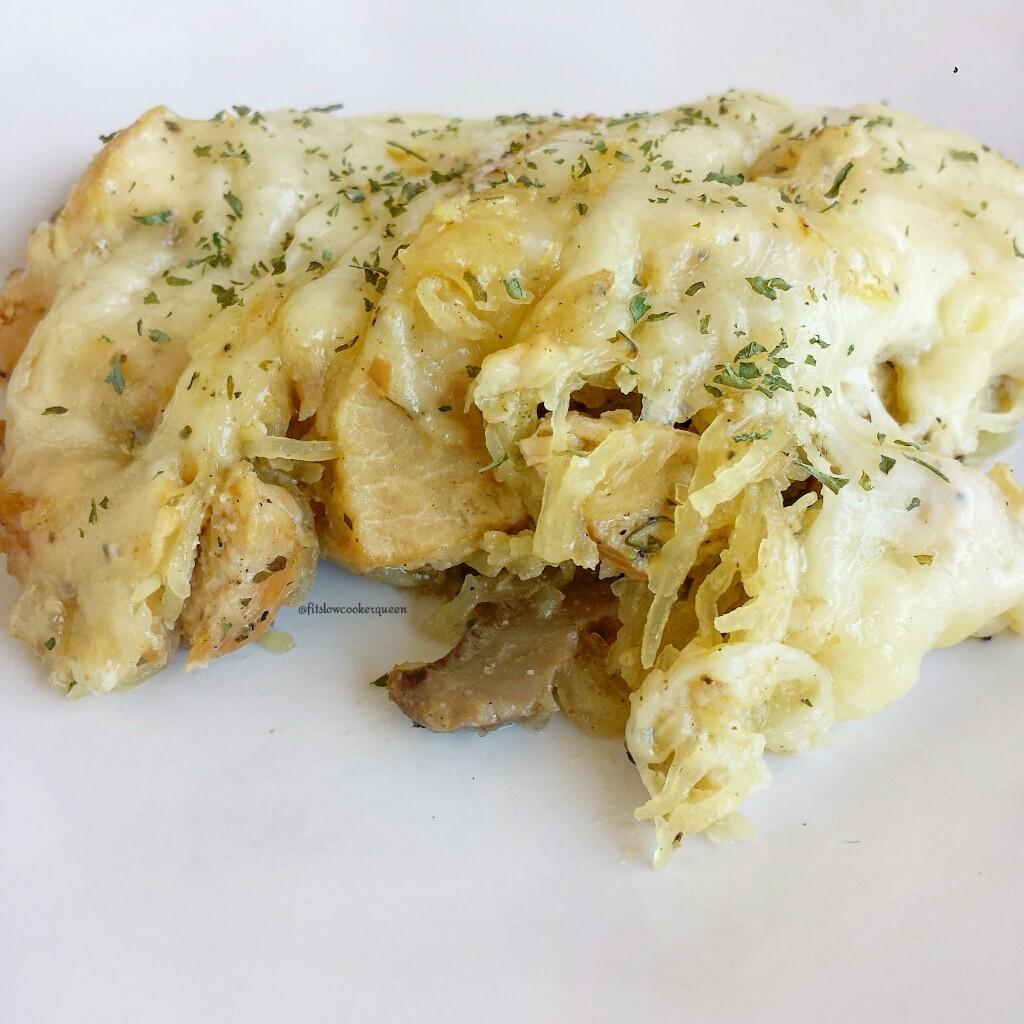 slow cooker low carb turkey tetrazzini