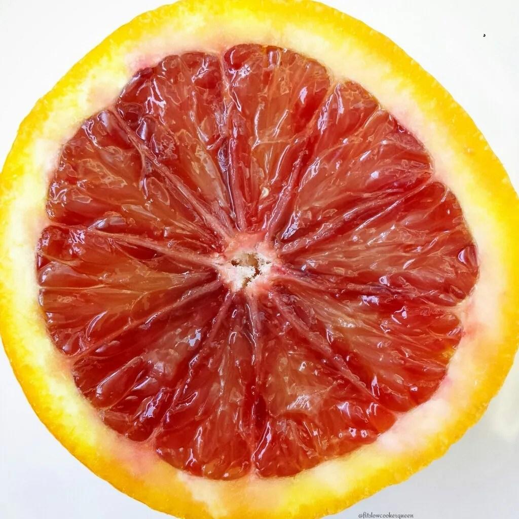 Slow Cooker Apple-Blood Orange Cider 3