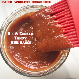 Slow Cooker Tangy BBQ Sauce (Paleo/Whole30)