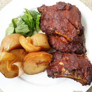 Slow Cooker Ribs & Potatoes