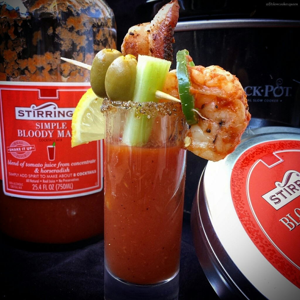 slow cooker spicy bloody mary shooters 2