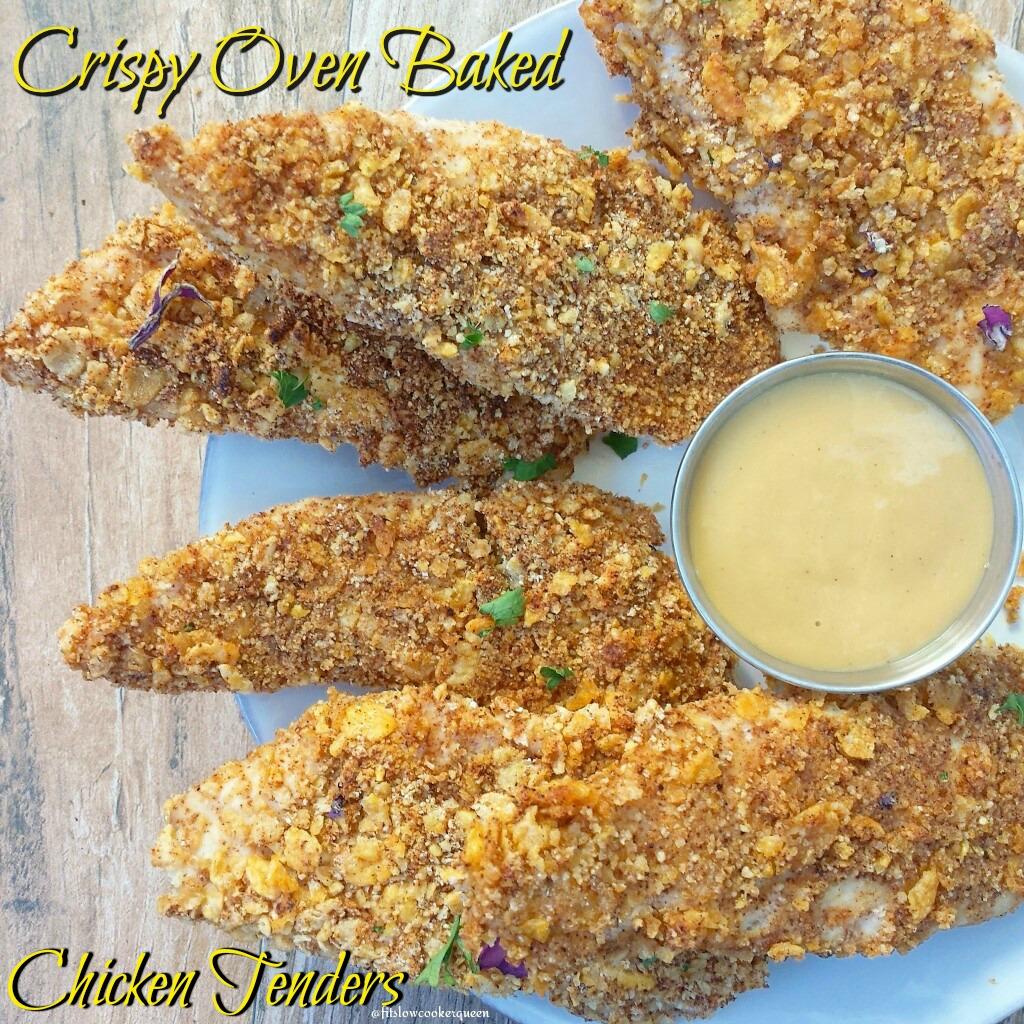 crispy oven baked chicken tenders fb