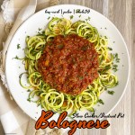 cover pic for Slow CookerInstant Pot Bolognese (Low-Carb, Paleo, Whole30)