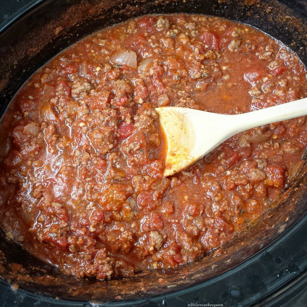 easy slow cooker bolognese