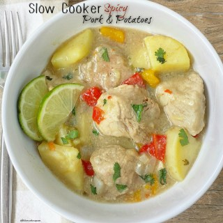 Slow Cooker Spicy Pork & Potatoes