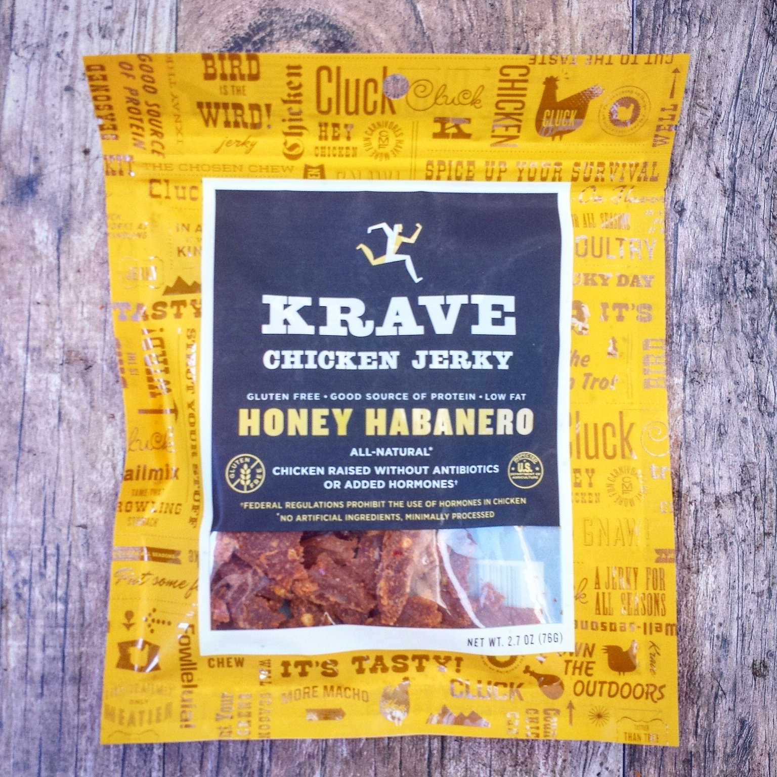 Not just a snack, Krave's all-natural and no artificial ingredients jerky is also the perfect flavorful, accompaniment for healthy slow cooker recipes.