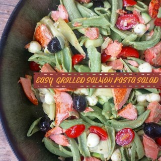 Easy Grilled Salmon Pasta Salad