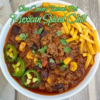 Slow Cooker/Instant Pot Mexican Spiced Chili