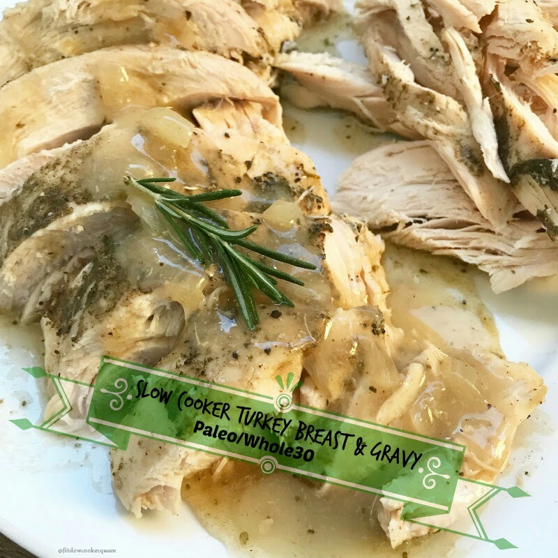 Want turkey breast & gravy that's healthy, juicy and flavorful? Then free up your oven and cook your turkey in the slow cooker!