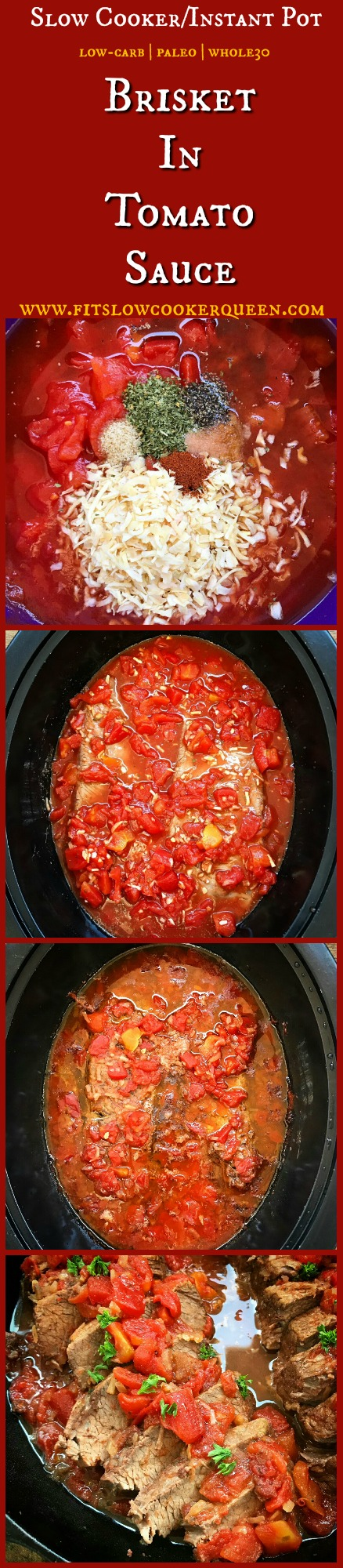 pinterest pin for Slow Cooker_Instant Pot Brisket in Tomato Sauce (Low-Carb, Paleo, Whole30) (1)