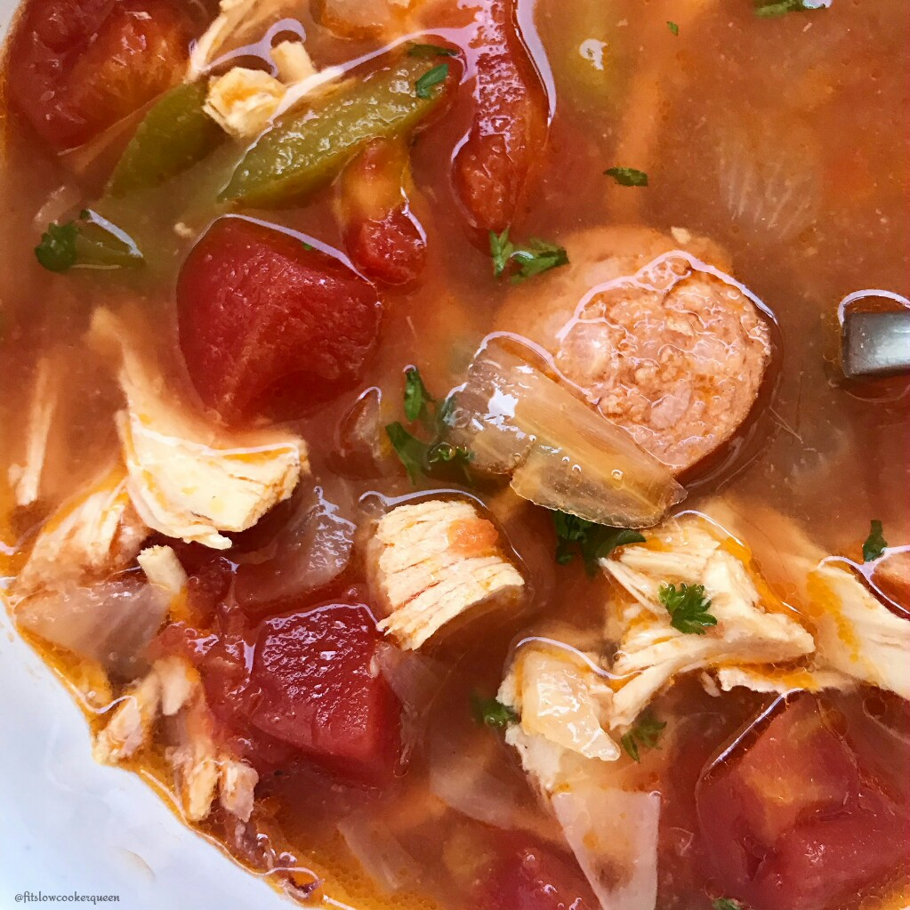 The holidays brings many things - lots of leftover turkey being one of them. This easy and healthy slow cooker recipe transforms leftover turkey into a flavorful Cajun soup.