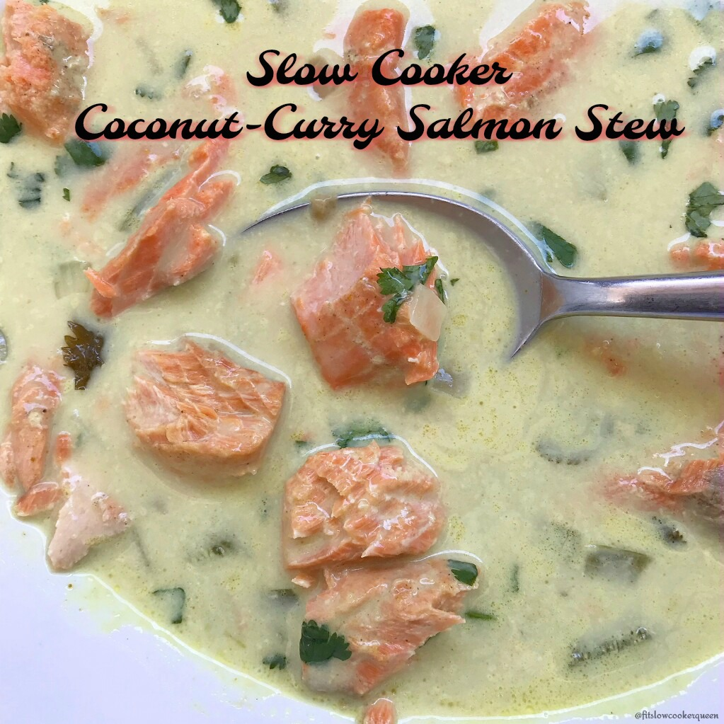 This coconut curry salmon stew is light yet savory all while being healthy and flavorful. In a short time you'll have a Thai inspired stew whose aroma will overtake your kitchen.