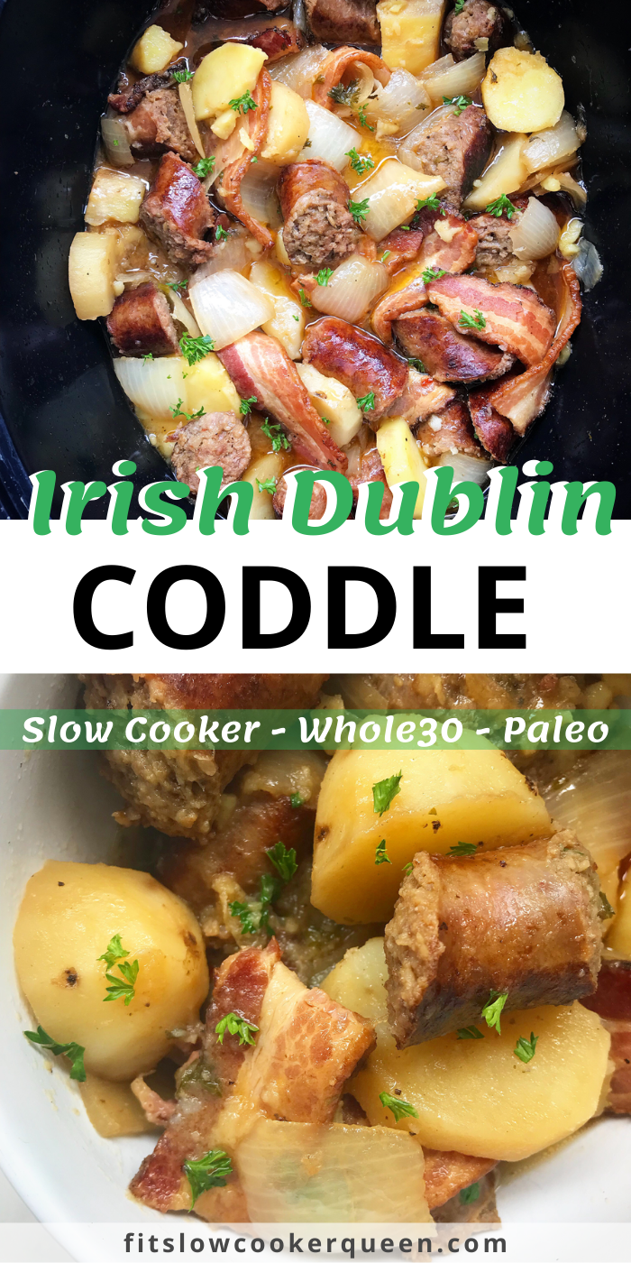 Slow Cooker Irish Dublin Coddle (Paleo/Whole30)