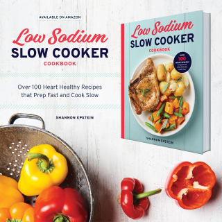 The Low-Sodium Slow Cooker Cookbook makes it easy to enjoy time-saving meals that are high on flavor but low in sodium. With 100 recipes that require only 30 minutes or less to prep, The Low-Sodium Slow Cooker Cookbook is your best reference to prep, set, and forget about bland recipes on a low-sodium diet.
