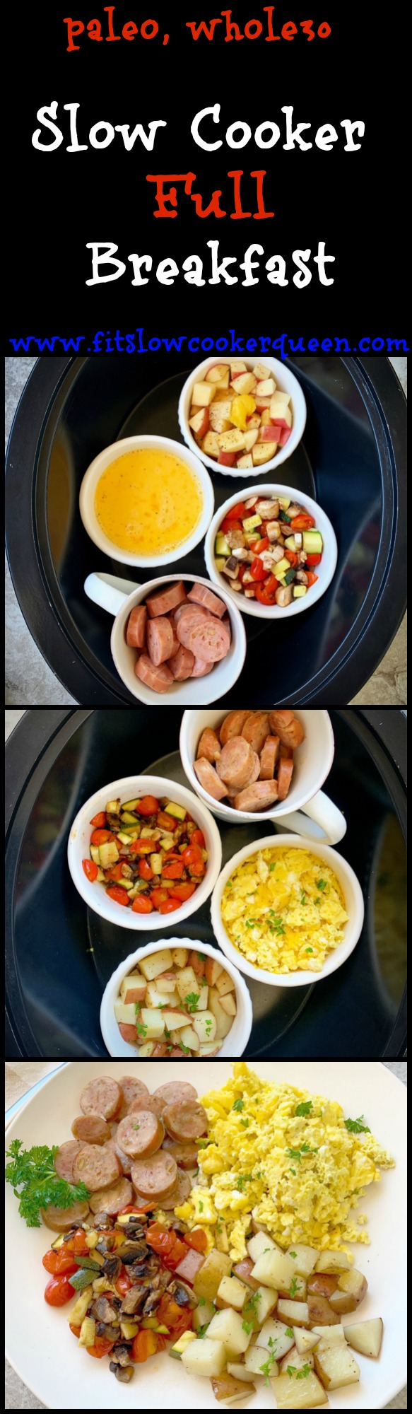 another pinterest pin for Slow Cooker Full Breakfast (Paleo,Whole30) pin2
