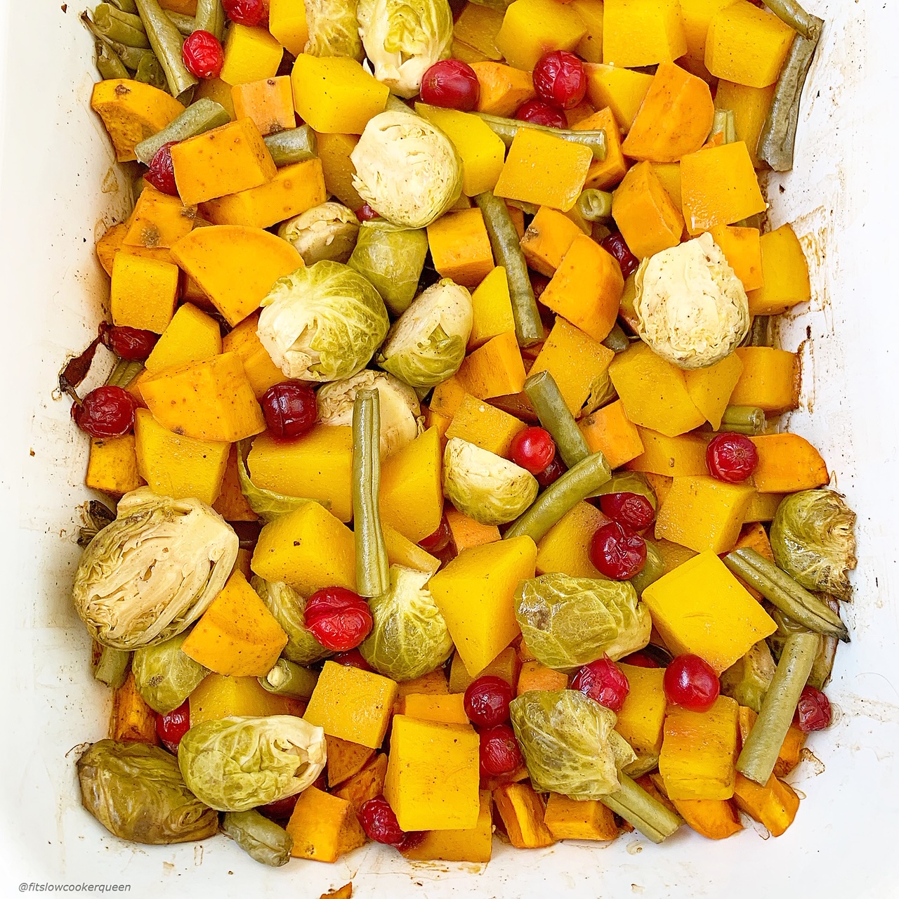 This healthy side dish is perfect for your next holiday gathering or family dinner. Grab your favorite vegetable for this slow cooker or Instant Pot recipe.