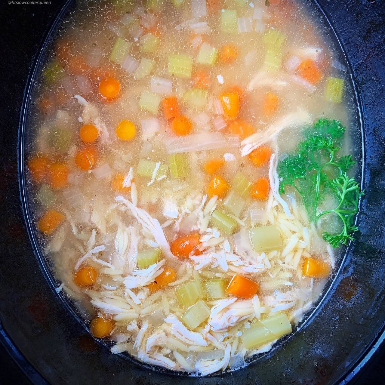 Lemon chicken and orzo soup is a simple soup that can be enjoyed any time of the year. Make this citrus flavored dish in your slow cooker or Instant Pot.