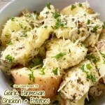 cover pic for {VIDEO} Slow CookerInstant Pot Garlic Parmesan Chicken & Potatoes