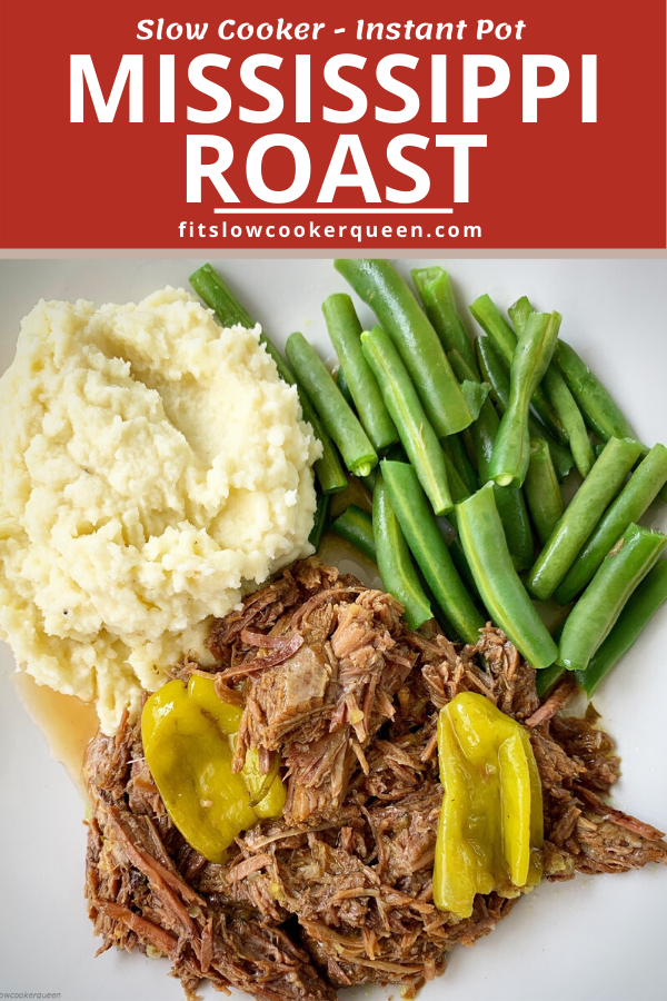 {VIDEO} Slow Cooker/Instant Pot Mississippi Roast (Low-Carb, Paleo,Whole30)