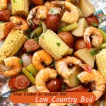 cover pic for slow cooker or instant pot low country boil