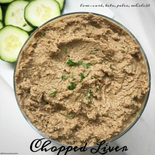cover pic for Slow Cooker Instant Pot Chopped Liver (Low-Carb,Paleo,Whole30)