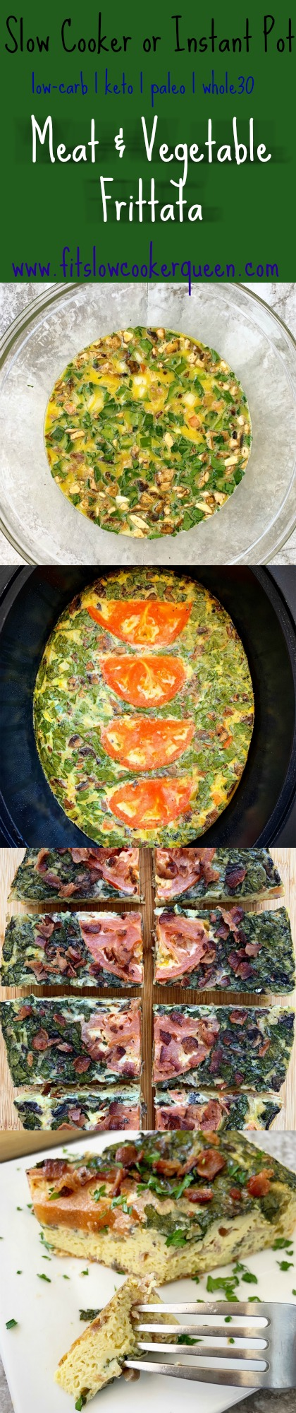 another pinterest pin for {VIDEO} Slow Cooker Meat & Vegetable Frittata (Low-Carb, Paleo, Whole30) pin2