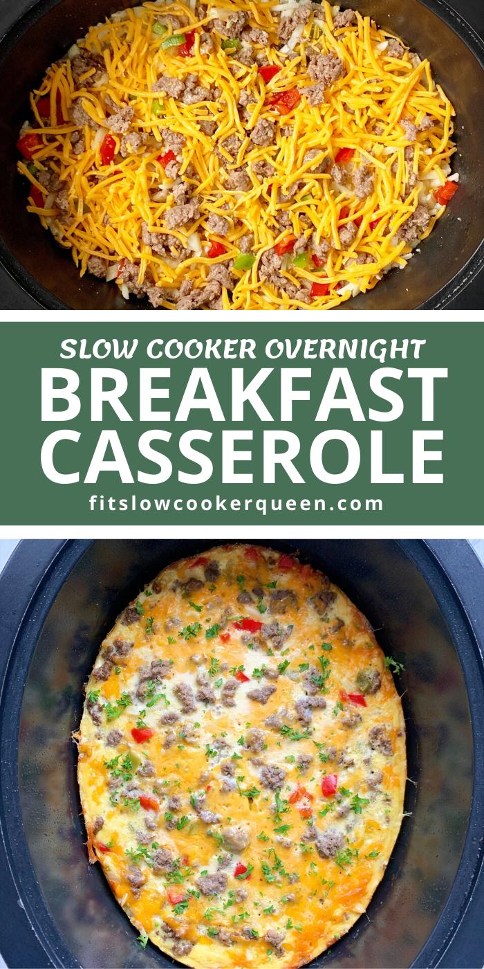 {VIDEO} Slow Cooker Overnight Breakfast Casserole