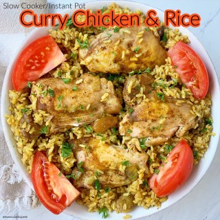 cover pic for {VIDEO} Slow CookerInstant Pot Curry Chicken & Rice (2)