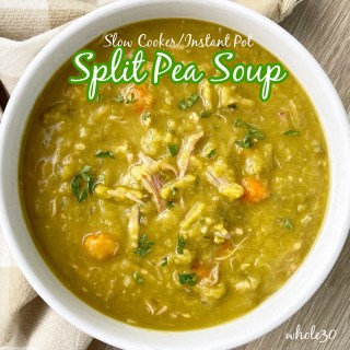 cover pic for {VIDEO} Slow CookerInstant Pot Split Pea Soup (Whole30)