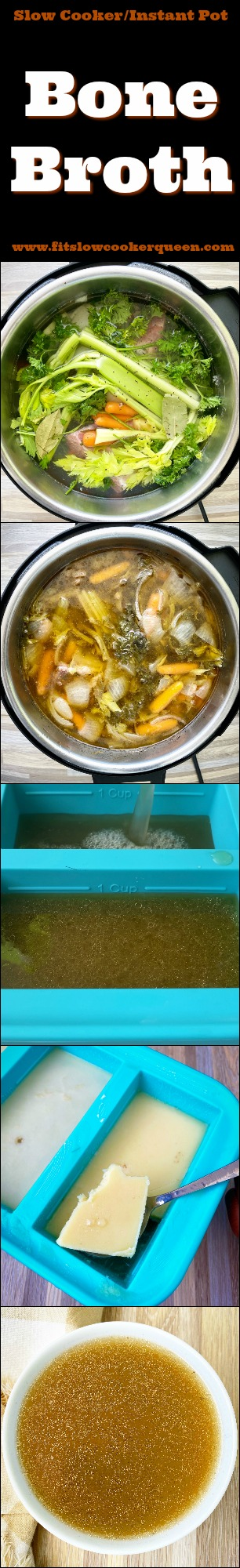 another pinterest pin for Slow Cooker_Instant Pot Bone Broth