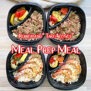 cover Rubbermaid® TakeAlongs® Meal Prep Meal