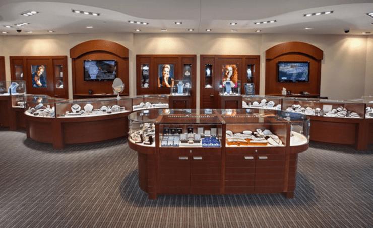 Visual Merchandising Jewelry Store